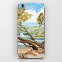 Summer At Coopers Beach iPhone Skin