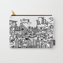Hong Kong Doodle Carry-All Pouch
