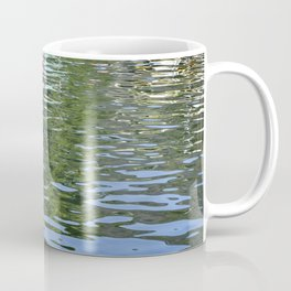 Colorful Reflections Abstract Coffee Mug