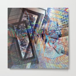 Key to the convincing was locked in with an appeal Metal Print