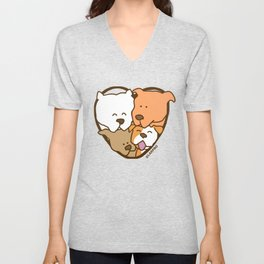 Friends Furever Unisex V-Neck
