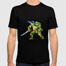 Katana Turtle Black MEDIUM Mens Fitted Tee