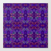 bubbles Canvas Prints featuring Bubbles by ARTDROID