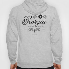 Georgia on My Mind (Southern Home State Series) Hoody