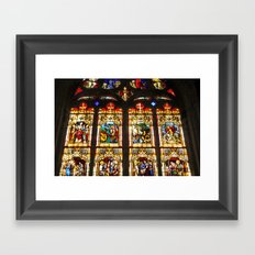 Bayeux Cathedral Framed Art Print