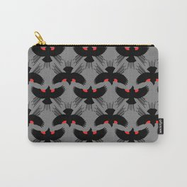Red Winged Blackbird Print Carry-All Pouch