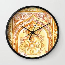 Mughal jharokha (window) Wall Clock