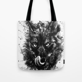Spirit animal Wolf Tote Bag