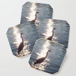Grey Heron Coaster