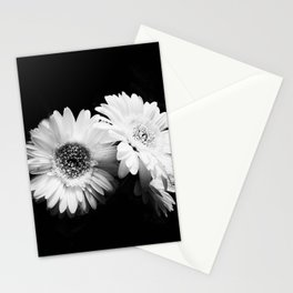 Flowers in Black and White - Nature Vintage Photography Stationery Cards