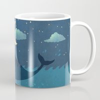 star Mugs featuring Star-maker by Terry Fan