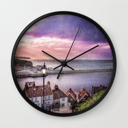 Mind Your Step Wall Clock
