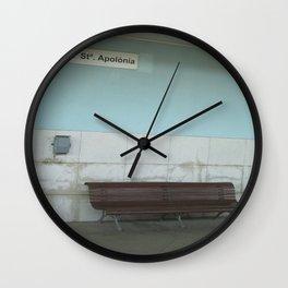 Lisboa: Santa Apolonia Wall Clock
