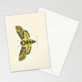 """""""Acherontia atropos"""" Moth Stationery Cards"""