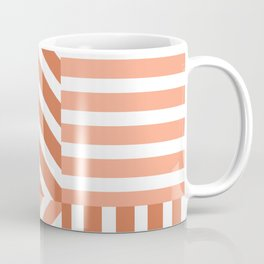 Uneven four types of striped pattern  Coffee Mug