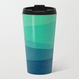 Stripe VIII Minty Fresh Metal Travel Mug