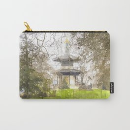 The Pagoda Battersea Park London Art Carry-All Pouch