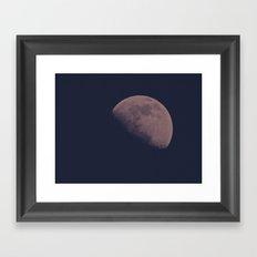 Half Moon Framed Art Print