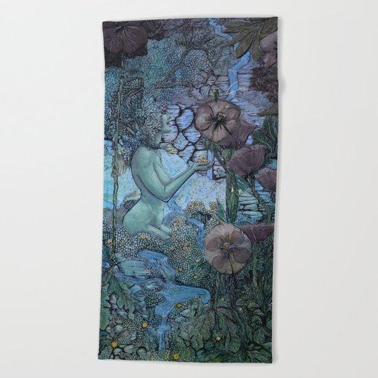 Gaian Forest Beach Towel