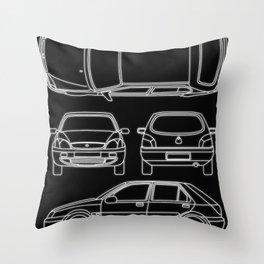 Fiesta MK4 Throw Pillow