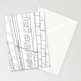 A day in Lodon - Line Art Stationery Cards