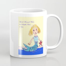 Mermaid Wishes Coffee Mug