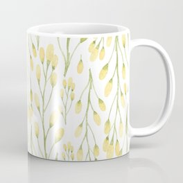 Messages of Love | Yellow Flowers Coffee Mug