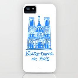 Notre-Dame de Paris iPhone Case