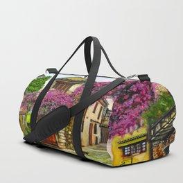 Courtyard in Provence Duffle Bag