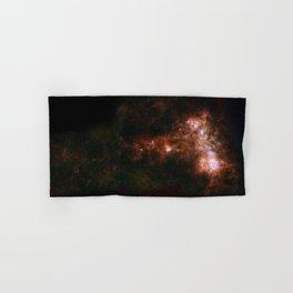 Small Magellanic Cloud, infared Hand & Bath Towel