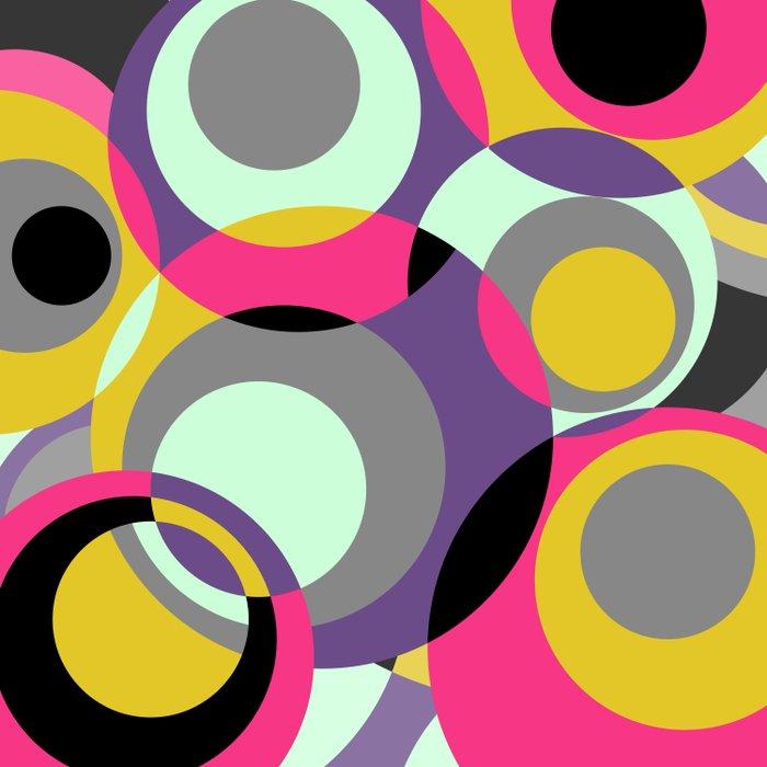 CirclesGame II Duvet Cover