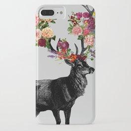 Spring Itself Deer Floral iPhone Case