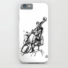 Playing the contrabass iPhone 6s Slim Case
