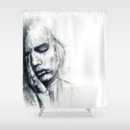 The Weight Shower Curtain