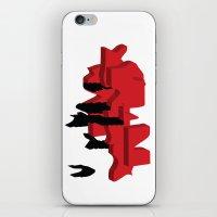 japan iPhone & iPod Skins featuring JAPAN by Joe Pansa