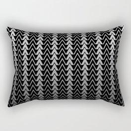 Geometric Peaks Rectangular Pillow