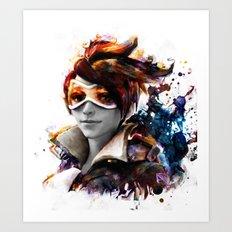 trace Art Print