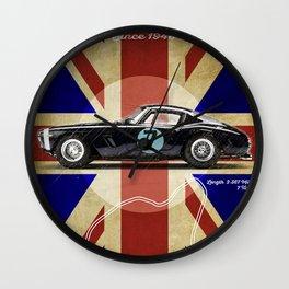 Goodwood Racetrack Vintage Wall Clock