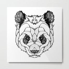 New Panda Metal Print