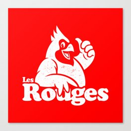 Les Rouges Canvas Print