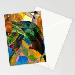 """Retro Tropical Tiki Fantasy"" Stationery Cards"