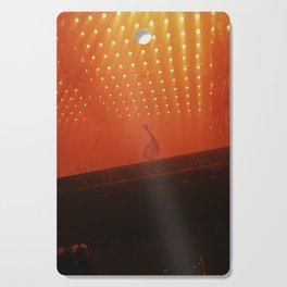 Under Orange Cutting Board
