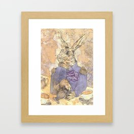 The March Hare Framed Art Print