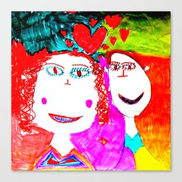 LOVE iN CHiLDHOOD Canvas Print