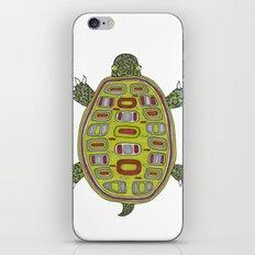 Tiled turtle iPhone & iPod Skin