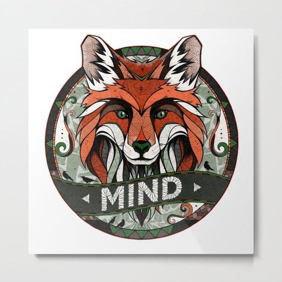 Mind Metal Print