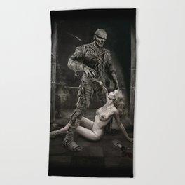 The Mummy Beach Towel