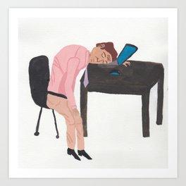 lazylazylazy Art Print