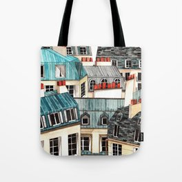 French unicycle Tote Bag