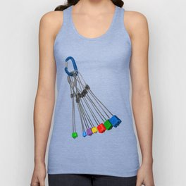 Rock Climbing Wires Unisex Tank Top